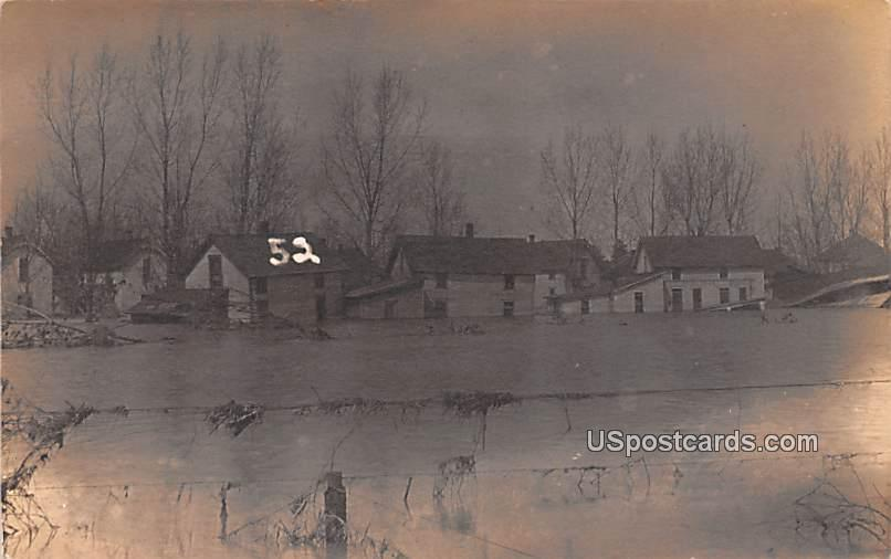 Winter Scene - Logansport, Indiana IN Postcard