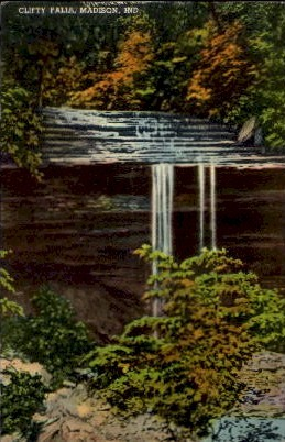 A.C. Hillabold - Madison, Indiana IN Postcard