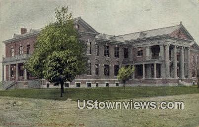 McMahon Barrack, National Military Home - Marion, Indiana IN Postcard