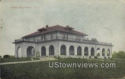 Country Club - Marion, Indiana IN Postcard