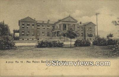 Mac Mahon Barracks - Marion, Indiana IN Postcard