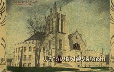 Presbyterian Church - Marion, Indiana IN Postcard