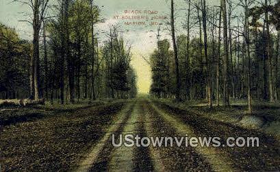 Black Roak, Soldiers Home - Marion, Indiana IN Postcard