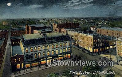 Marion, Indiana, IN, Postcard