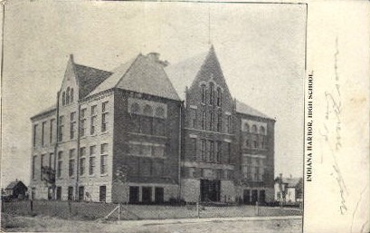 Indiana Harbor High School - Misc Postcard