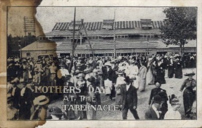 Mothers' Day at the Tabernacle - Misc, Indiana IN Postcard