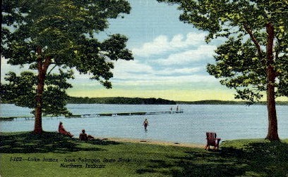Lake James from Pokagon State Park - Misc, Indiana IN Postcard