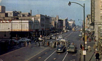 Michigan Avenue - Misc, Indiana IN Postcard