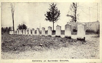 Cemetery on Surrender Grounds - Misc, Indiana IN Postcard