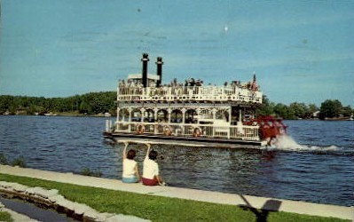 Indiana Beach Riviera of the Midwest - Misc Postcard