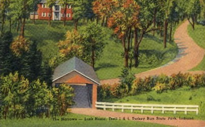 The Narrows  - Misc, Indiana IN Postcard