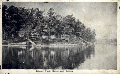Island Park Hotel and Annex - Misc, Indiana IN Postcard