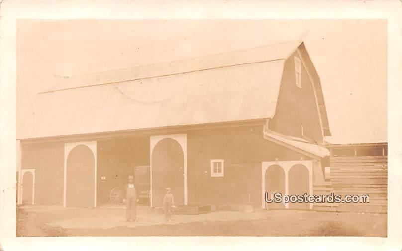 Barn - Misc, Indiana IN Postcard