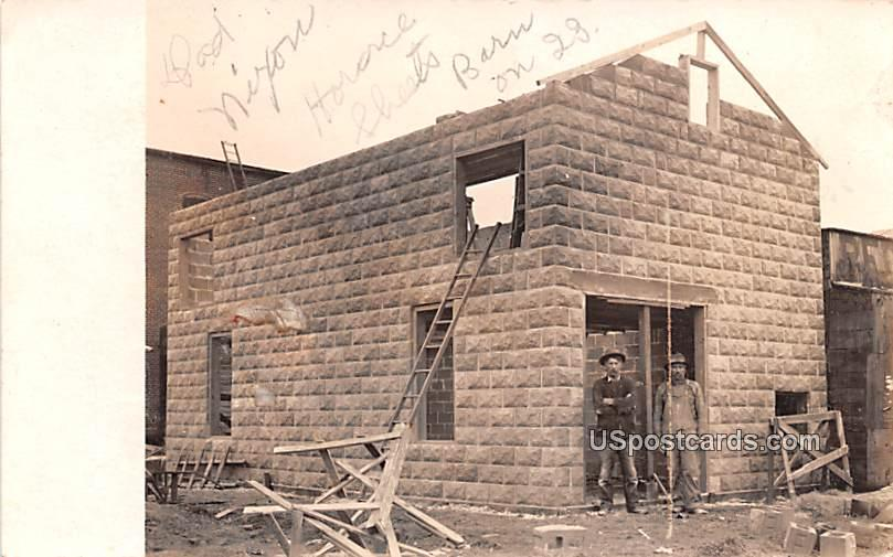 Nixon Horace Sheets Barn, Tarver Barn - Misc, Indiana IN Postcard