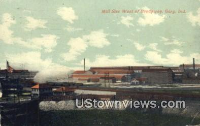 Mill Site - Gary, Indiana IN Postcard