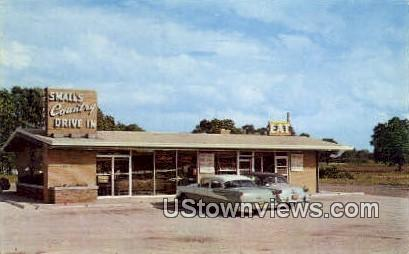 Small's Country Drive-In Restaurant - Gary, Indiana IN Postcard