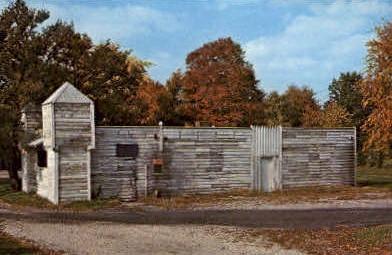 Fort Harrison - Terre Haute, Indiana IN Postcard