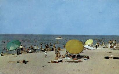 Marquett Park Beach - Gary, Indiana IN Postcard