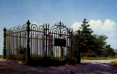 Johnny Appleseed Grave - Fort Wayne, Indiana IN Postcard