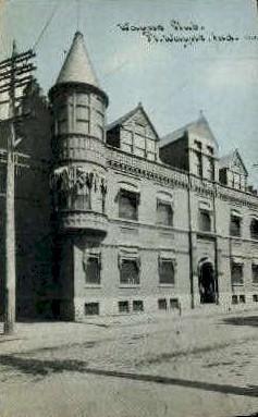 Wayne Club - Fort Wayne, Indiana IN Postcard