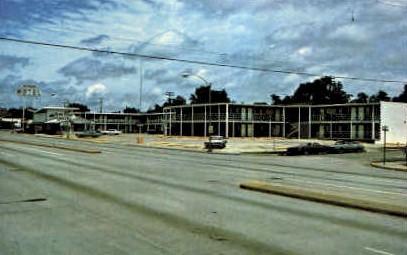 Midtown Motel - Terre Haute, Indiana IN Postcard