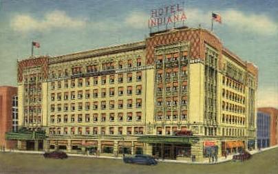 Hotel Indiana - Fort Wayne Postcard
