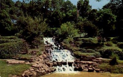 Jaenecke Gardens - Fort Wayne, Indiana IN Postcard