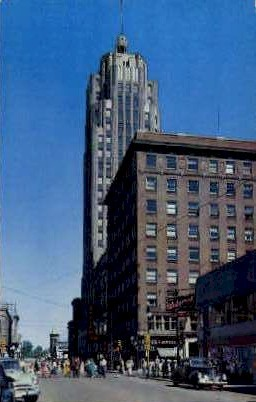 The Lincoln Tower - Fort Wayne, Indiana IN Postcard