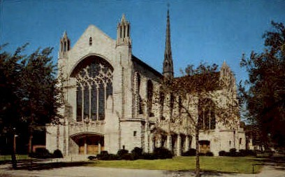 Holy Angels Cathedral - Gary, Indiana IN Postcard