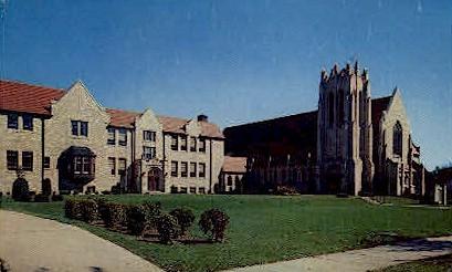 Bethlehem Lutheran Church - Fort Wayne, Indiana IN Postcard