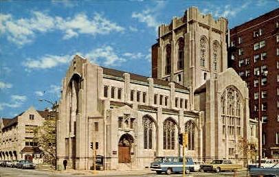 City Methodist Church - Gary, Indiana IN Postcard