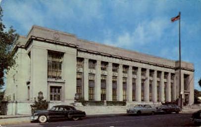 U.S. Post Office - Fort Wayne, Indiana IN Postcard