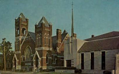 First Methodist Church - Fort Wayne, Indiana IN Postcard