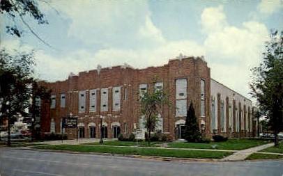 Gospel Temple - Fort Wayne, Indiana IN Postcard
