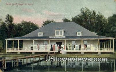 Bass Lake Country Club - Knox, Indiana IN Postcard