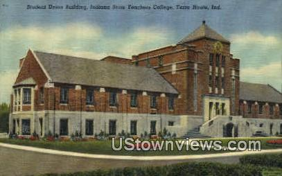 Indiana State Teachers College - Terre Haute Postcard