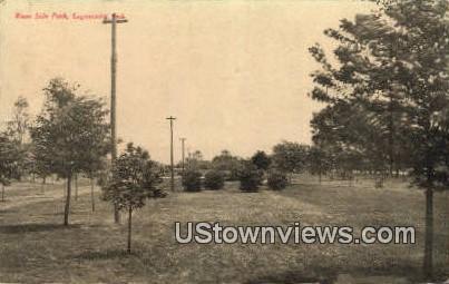 River Side Park - Logansport, Indiana IN Postcard