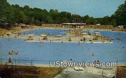 Burdette Park - Evansville, Indiana IN Postcard