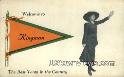 Kingman, Indiana, IN, Postcard