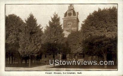 Court House, La Grange - Indiana IN Postcard