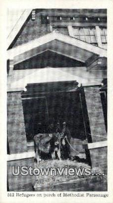 512 Refuges, Methodist Parsonage - Misc, Indiana IN Postcard