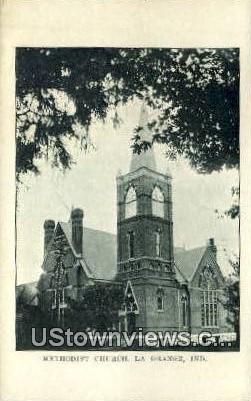 Methodist Church - La Grange, Indiana IN Postcard