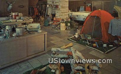Root's Camp 'N Ski Haus - Fort Wayne, Indiana IN Postcard