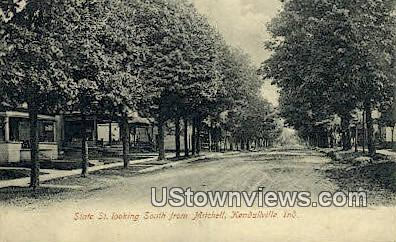 State Street - Kendallville, Indiana IN Postcard