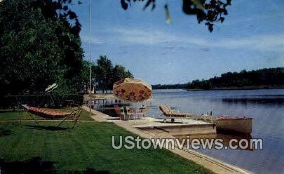 Lake Dallas - La Grange, Indiana IN Postcard