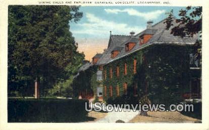 Dining Halls, Longcliff - Logansport, Indiana IN Postcard