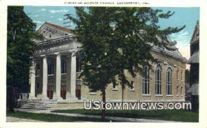 Christian Science Church - Logansport, Indiana IN Postcard
