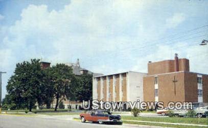 Saint Joseph Hospital - Logansport, Indiana IN Postcard