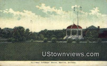 National Soldiers' Home - Marion, Indiana IN Postcard