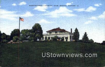 Meshingomesia Country Club - Marion, Indiana IN Postcard